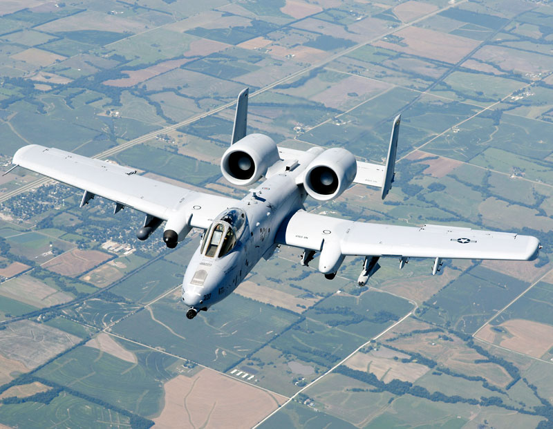 A-10 Thunderbolt II Version 2 Minecraft Project