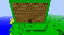 Green wool screen Minecraft Map & Project