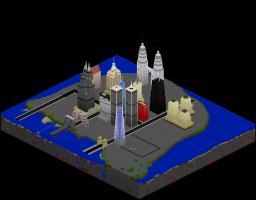 Large modern city Minecraft Project