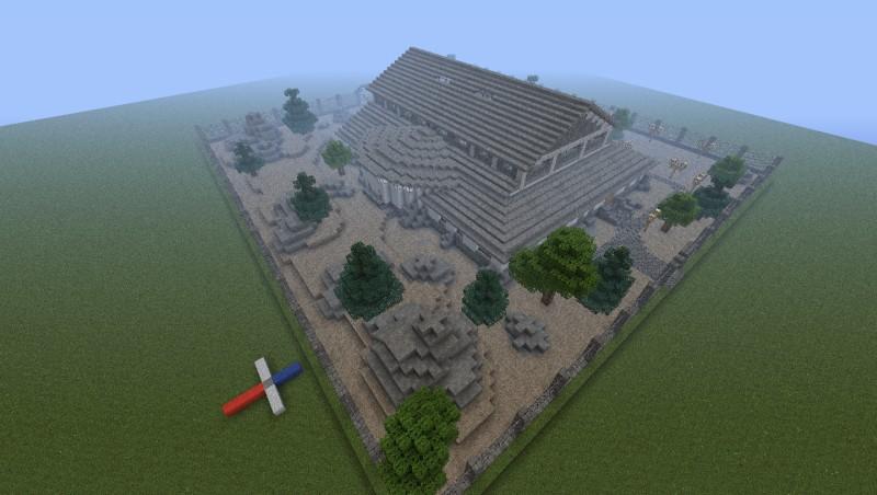 minecraft how to build a pokemon gym