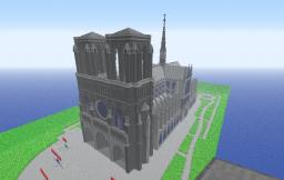Notre Dame de Paris Minecraft Map & Project