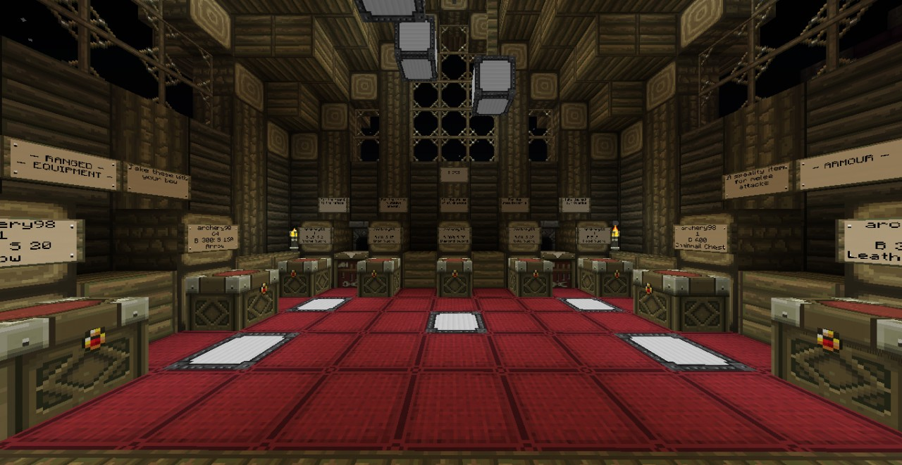 archery98's Master Weapon Shop Minecraft Project
