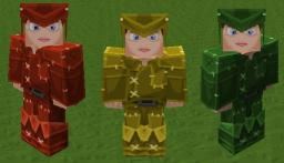 Sphax PureBDCraft Patch - Dyed Leather Armour Mod Minecraft Texture Pack