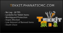PhanaticMC Tekkit Server