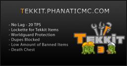 PhanaticMC Tekkit Server Minecraft Server
