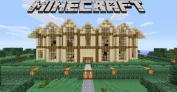 Minecraft Wooden Mansion Minecraft Project