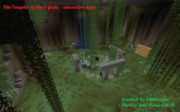 [ ADVENTURE / PUZZLE] [1.3.2]  Temple of the 3 Gods (1-4 players) Minecraft Map & Project