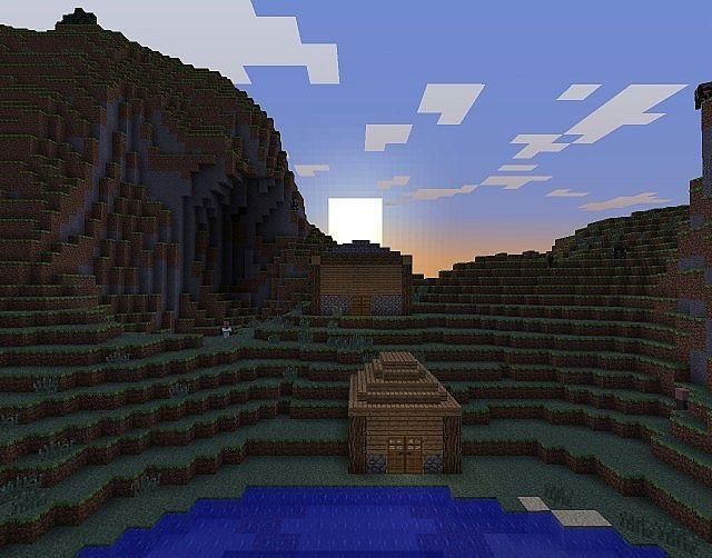 Village Life - Small Minecraft Project