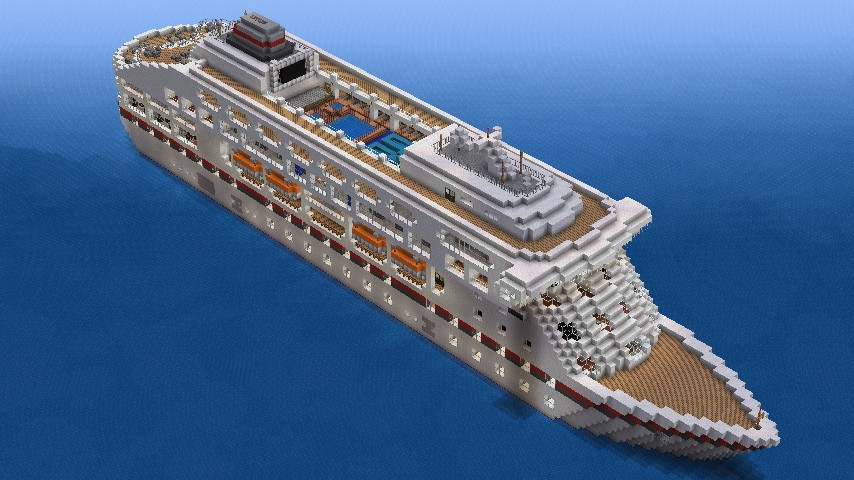 Legacy Cruise Ship Minecraft Project