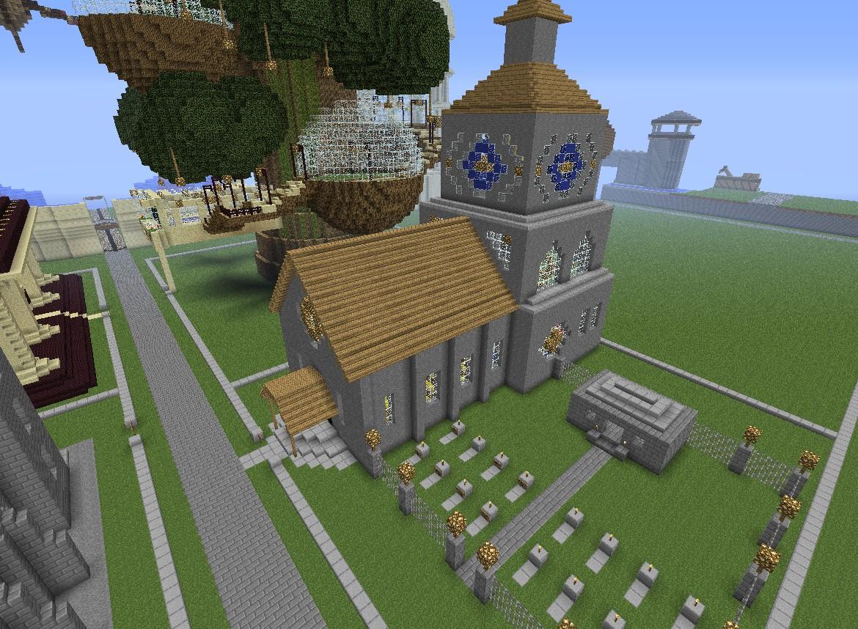 church build minecraft project. Black Bedroom Furniture Sets. Home Design Ideas