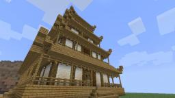 Pagoda Building Blueprints! Minecraft Blog Post