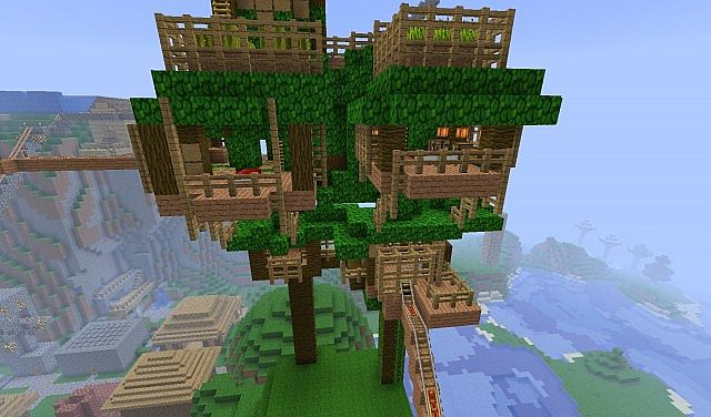 how to get leaves minecraft