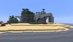 Halo CE the silent cartographer 1:1 Minecraft Project