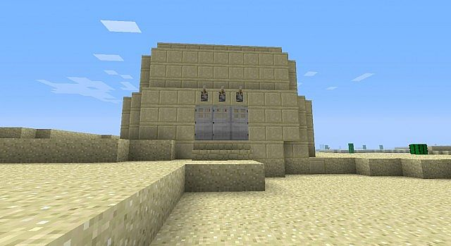 Desert Trap House Minecraft Map