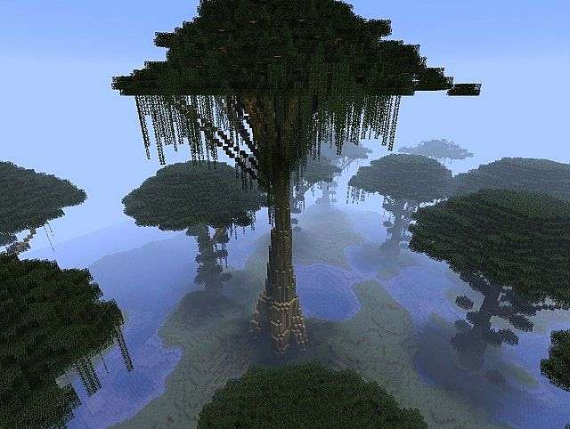 how to make a big jungle tree in minecraft