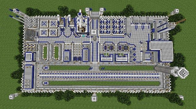 Military Base Minecraft