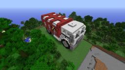 Demolition Truck (Red Alert 2) Minecraft Map & Project