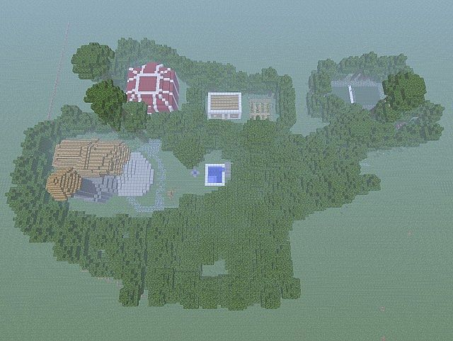 Fablehaven Preserve Minecraft Project