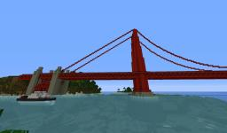 Golden Gate Minecraft Map & Project