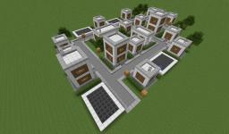 Modern Village Minecraft Map & Project