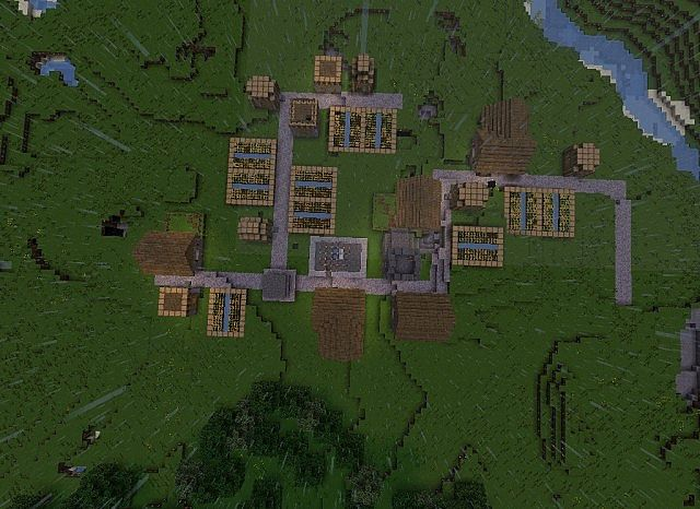 Cool First Home With Stuff Minecraft Project