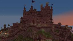 Plaunitz castle: An improvised hill fortress Minecraft Map & Project