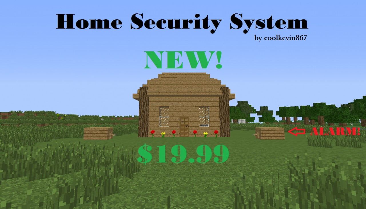 Home Security System Minecraft Project