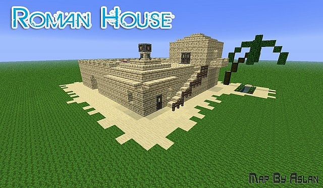 The Roman House By Aslan Minecraft Map
