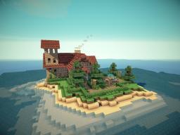Eldurian Island Estate - Victorian Build Minecraft Map & Project