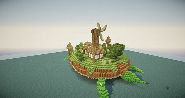 Turtle Island Minecraft Project