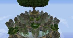 Kelormaraine Flying City Minecraft