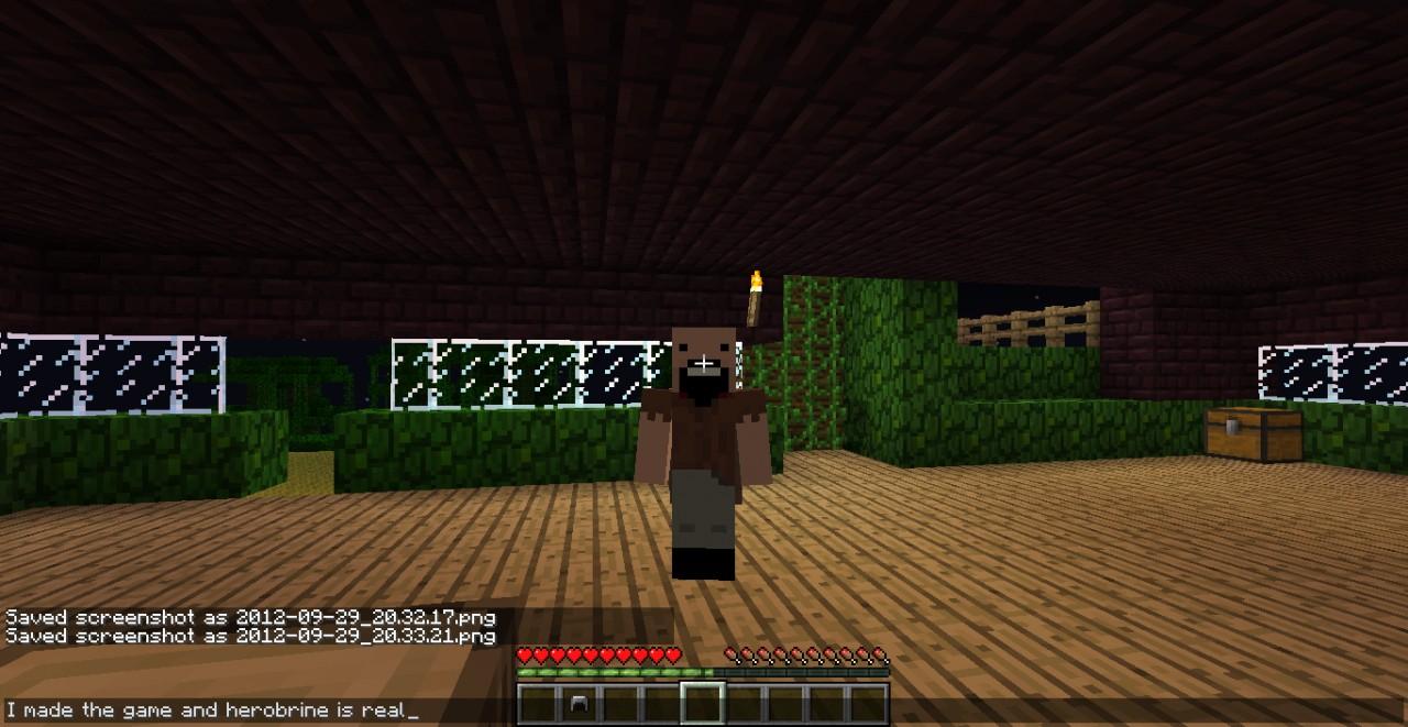 Herobrine Real Minecraft Project