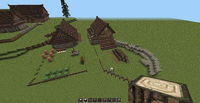 Skyrim Riverwood Minecraft Project