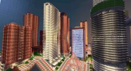 Bay Saraykin Center Minecraft Map & Project
