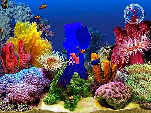 underwater scene guy Minecraft Blog