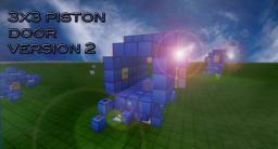 3x3 piston door Minecraft Map & Project