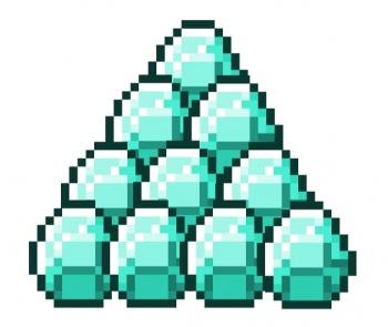 Image result for diamonds minecraft