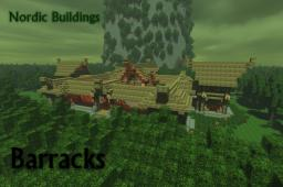 Nordic Buildings - Barracks Minecraft Map & Project