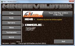 [Program]MineRevolution Minecraft Mod