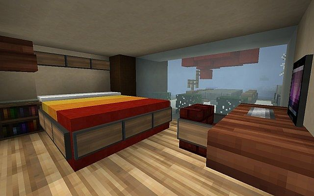 minecraft master bedroom lakeside house minecraft project 12400