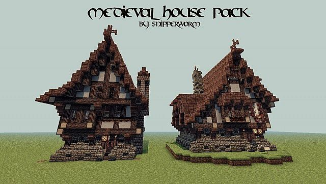Medieval House Pack Minecraft Project