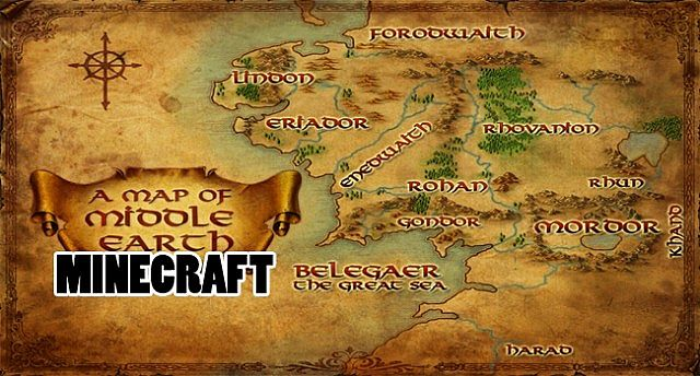 Entire recreation of middle earth minecraft project entire recreation of middle earth gumiabroncs Choice Image