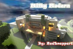Milky Modern Minecraft Map & Project