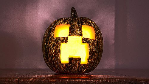 how to decorate your house for halloween minecraft blog