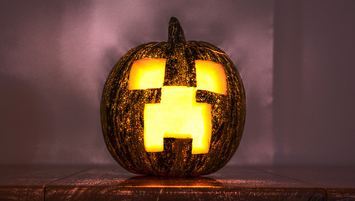How To Decorate Your House For Halloween Minecraft Blog - Use-pumpkins-to-decorate-your-house-for-halloween