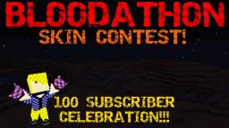 Bloodathon Skin Contest(Finished) (100 subs)(Contest) Minecraft Blog Post
