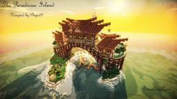 Minecraft Cinematic - The Paradisiac Island Minecraft Project