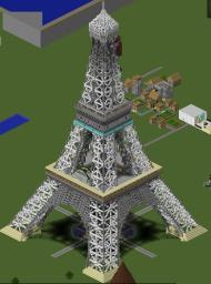 Eiffel Tower Minecraft Project