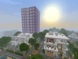 Modern House Project v1.2 by PandyRaze Minecraft Map & Project