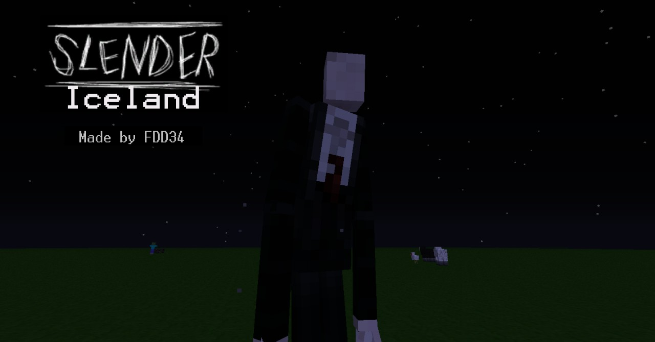 slender man mod for minecraft